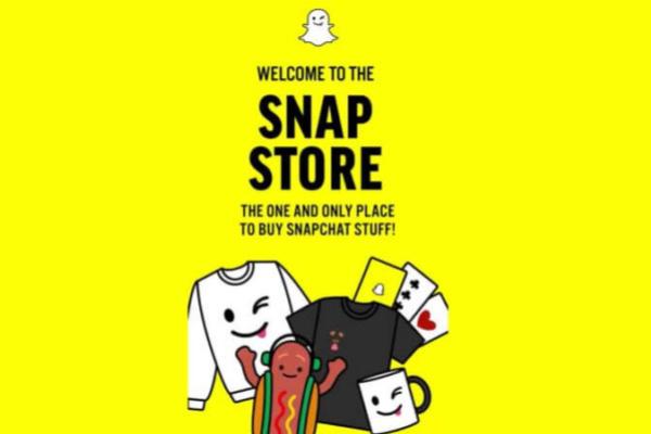 Snap Store, la boutique en ligne Snapchat