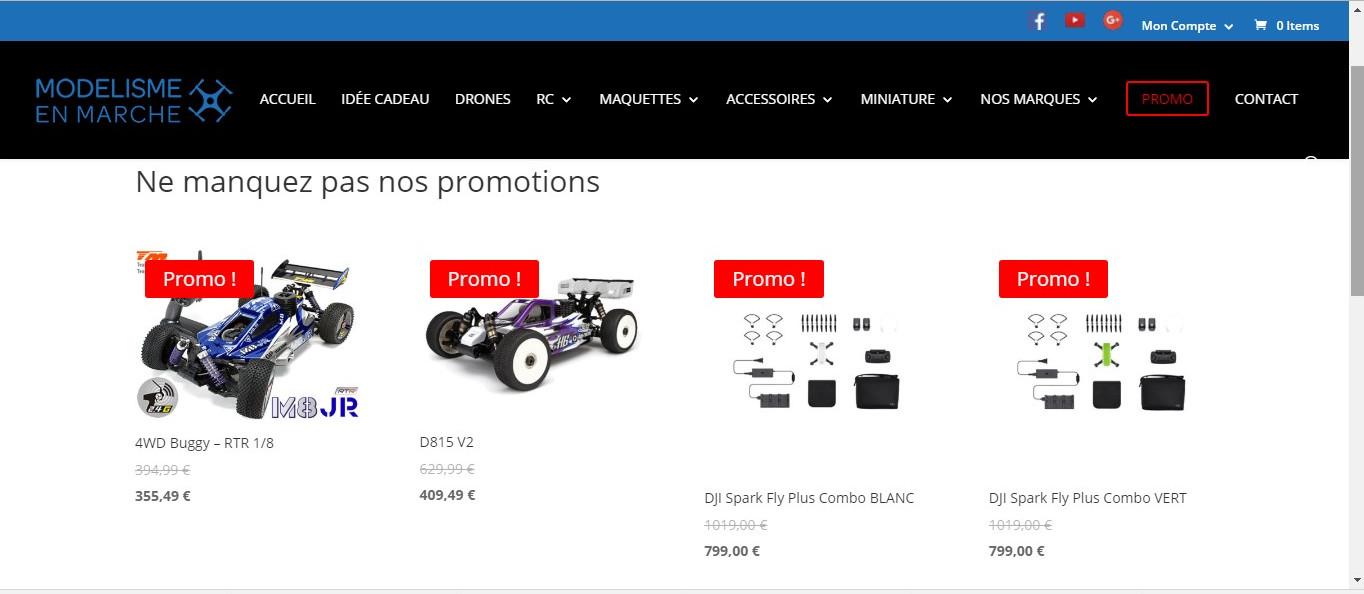 PromosPage Promos